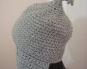 Crochet Ear Flap Hat with Tassels in Wool Blend - Crochet Hat - Ski Hat - Snow Hat - Winter Accessories - For Him - For Her