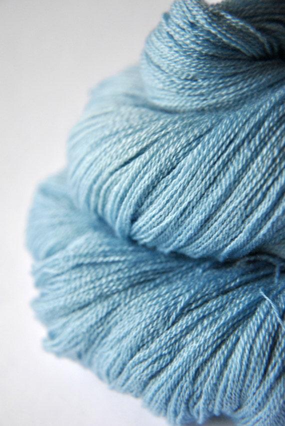 Gone to heaven - Merino/Silk/Cashmere Yarn Fine Lace weight