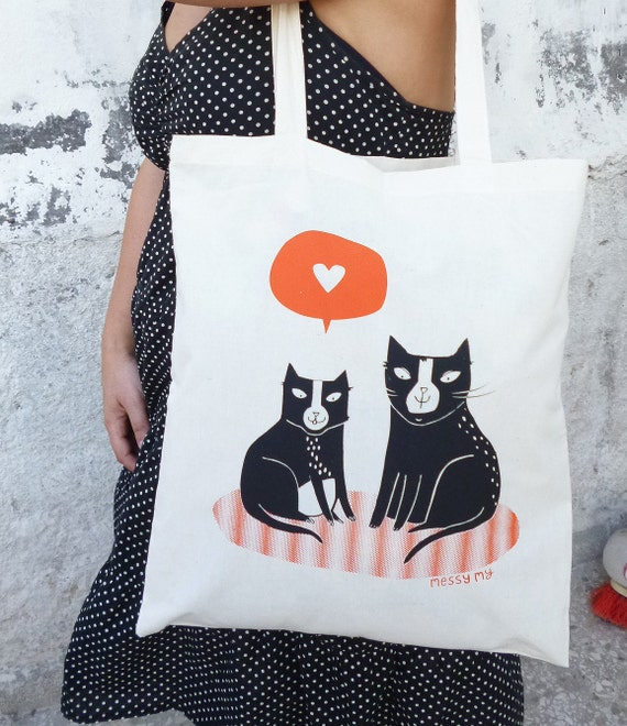 Love Cats Tote bag - (limited edition)