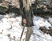 Woman Brocade coat