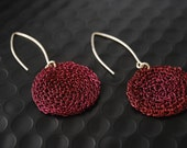 Errings Silver Crochet Bordo D30 (Reserved for Tamera  to 25.09. 2011)