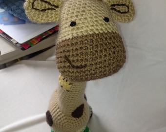 Big Brown Giraffe Crochet Pattern