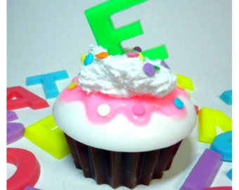 Personalized Cupcake Soap