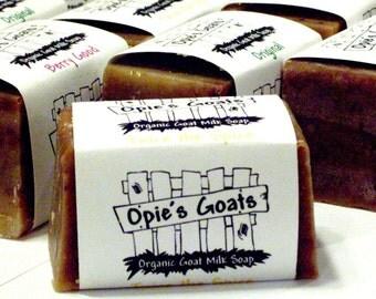 Opie's Goats Original Organic, Handmade Goat Milk Soap.