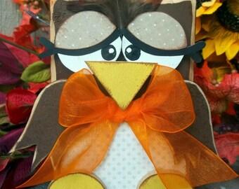 Autumn OWL Blockhead kit