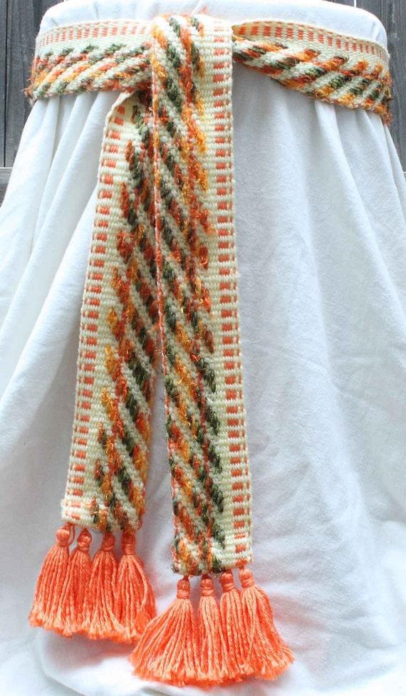 Belt - Bright Unique Pattern - Sash