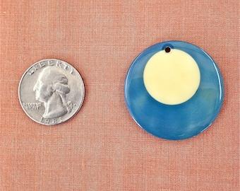 Pendant - Vintage Billiard Ball - Blue