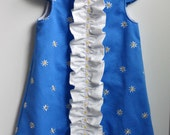 Ruffled Chemise for Girls PDF Sewing Pattern (e-pattern, INSTANT DOWNLOAD)