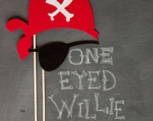 props on a stick - one eyed willie