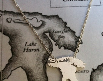 Lake Huron Necklace