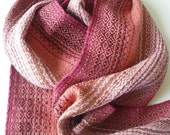 Handwoven Blended Pinks Scarf