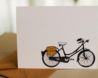 Traveling Bike- Blank Card