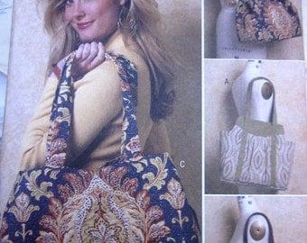 Butterick 5438 Tote Purse Handbag Phone Case Sewing Pattern