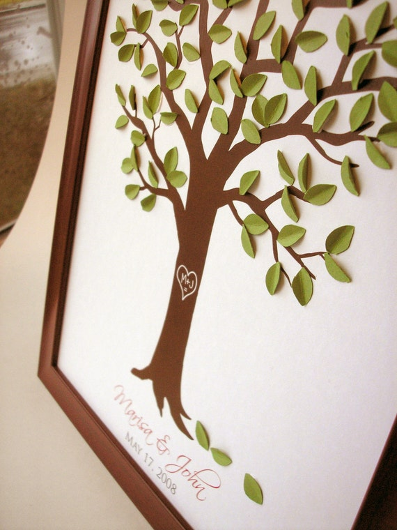 Reserved listing for Esmerleda Pagan - Wedding Guestbook tree