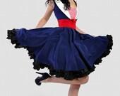 Rockabilly Navy Sailor dress