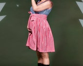 Rockabilly maternity dress / Country Mom