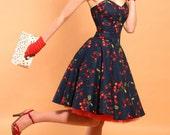Rockabilly Cherry Bomb dress