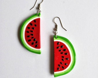 Watermelon Earrings - Gifts for her