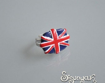 British flag Ring - Gifts for her