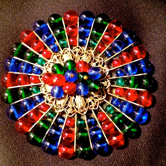 Miriam Haskell Brooch Reserved for K. By Rare Beauty on Etsy