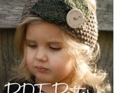 Knitting PATTERN-The Jordynn Warmer (Toddler, Child, Adult sizes)