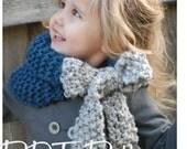 Knitting PATTERN-The Savannah Cowl (Child, Adult sizes)