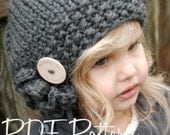 Knitting PATTERN-The Bennett Beret (Toddler, Child, Adult sizes)