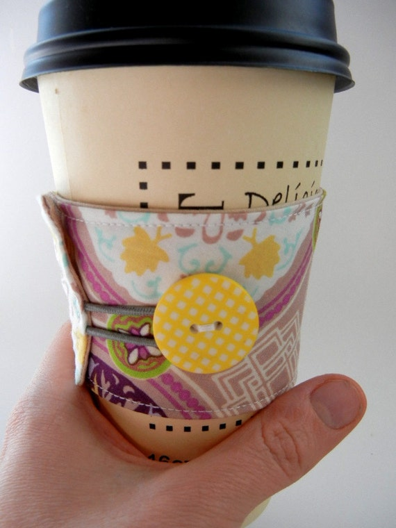 Coffee Cozy Sleeve: Moroccan Morning