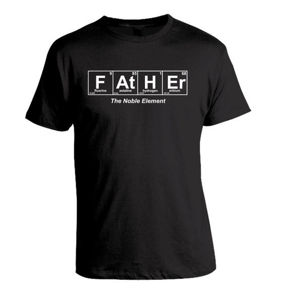 Father Gift, Father Shirt, Gift for Dad Periodic Table, Funny Dad Shirt, Christmas Gift, Birthday Gift, Fathers Day, Expectant Father Gift