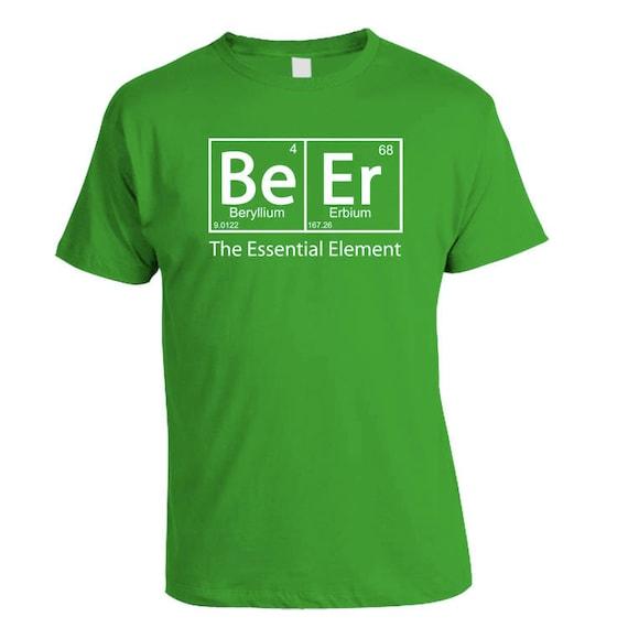 Beer - The Essential Element  - Beer Geek T-Shirt