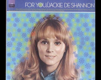 Jackie De Shannon - For You - Vintage Record Album,  1967 Imperial LP - vinyl