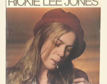Rickie Lee Jones - Her First Studio LP - Music 1979 Vintage Vinyl Record Album, Chuck E.'s In Love,  Weasel and the White Boys Cool