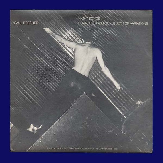 Paul Dresher - Night Songs - Beautiful Minimalist Music for the Mind and Soul - Vintage Vinyl Record Album,1984 New Albion LP