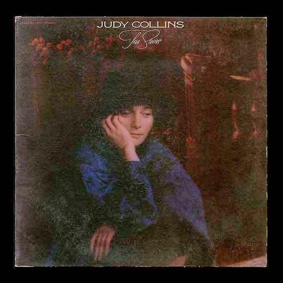 Judy Collins, True Stories and Other Dreams, VIntage Record, Elektra LP Album Folk Singer Vinyl