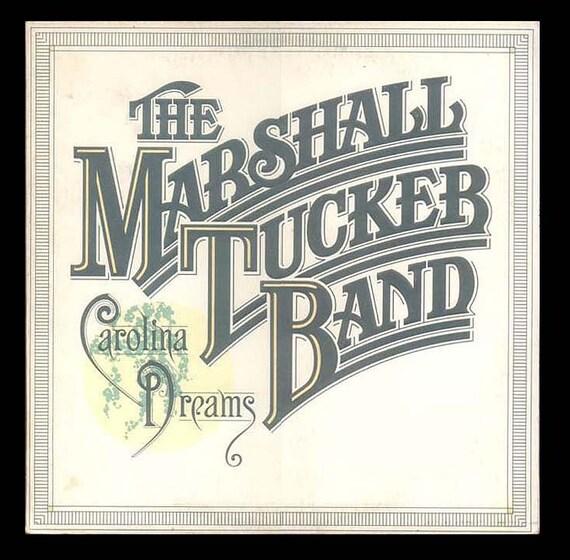 Marshall Tucker Band , Carolina Dreams - Vintage Record Album 1977 Music, Capricorn LP