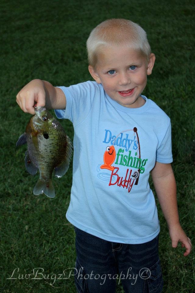 Boys fishing shirt embroidered shirt toddler by for Toddler fishing shirts