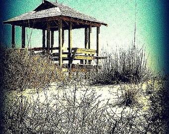 "PHOTOGRAPH NEW YORK ""Beach in Winter"""