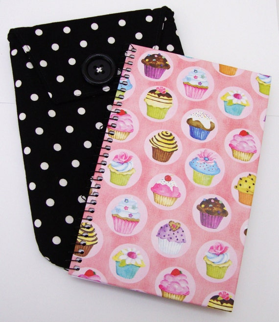 Polka Dot Notebook and Case