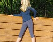 Eco - Friendly Capri Leggings for Girls - Tights - Organic Clothing - Eco  Kids