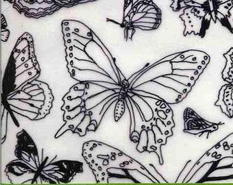 Inspirational Graduation Congratulations Card for Girl with Butterflies