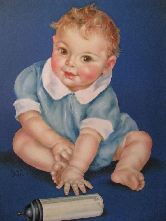 Reserved for Dianna Ten Little Fingers Charlotte Becker Calendar art