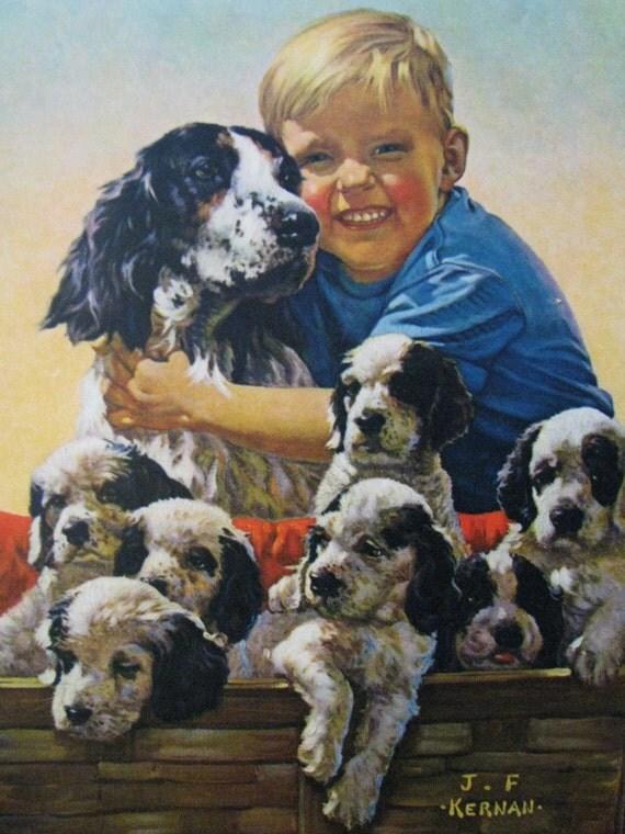 Big Happy Family Jf Kernan Calendar Art Print