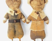 SALE!! Pdf Instant Download Primitive Thanksgivng Pilgrim Doll  E-Pattern OFG Team FAAP Team