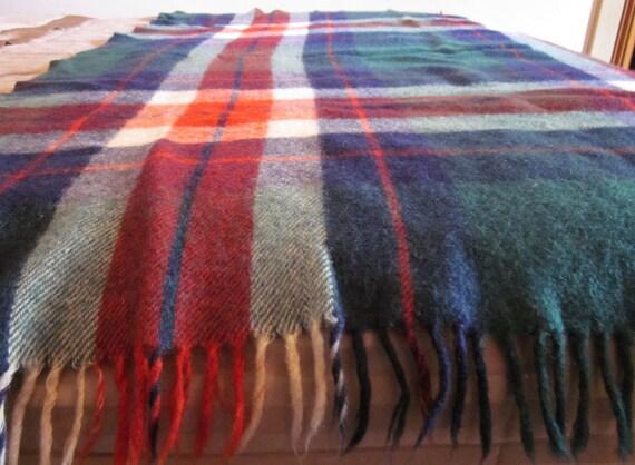 SALE: Plaid Outdoor Blanket
