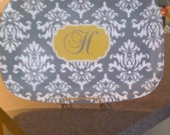 Personalized Melamine Platter with Monogram - Wedding Shower Gift / Hostess Gift / Engagement Gift