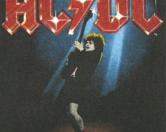 Vintage AC/DC 1981 tour T SHIRT