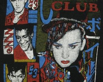 Original 80s CULTURE CLUB vintage SHIRT