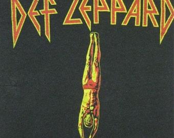 Original DEF LEPPARD vintage 1981 tour TSHIRT