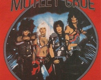 Original MOTLEY CRUE vintage 1983 TSHIRT