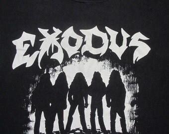 Original EXODUS 1985 tour SHIRT XL